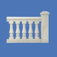 Balusters for balconies and pavilions