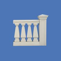 "Balusters for balconies ""Conical"""